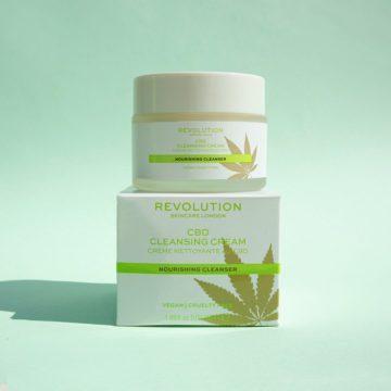 Revolution Skincare CBD Cleansing Cream promo
