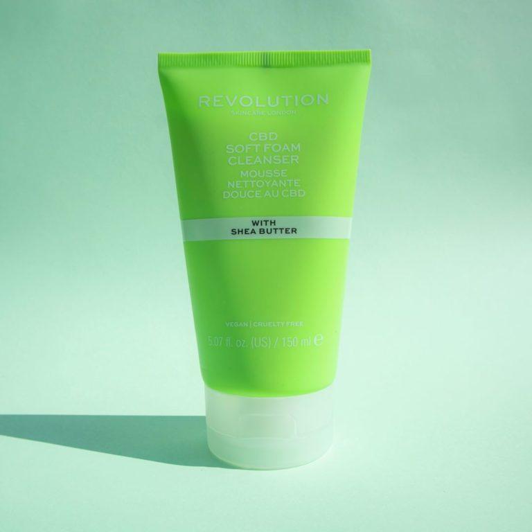 Revolution Skincare CBD Soft Foam Cleanser promo
