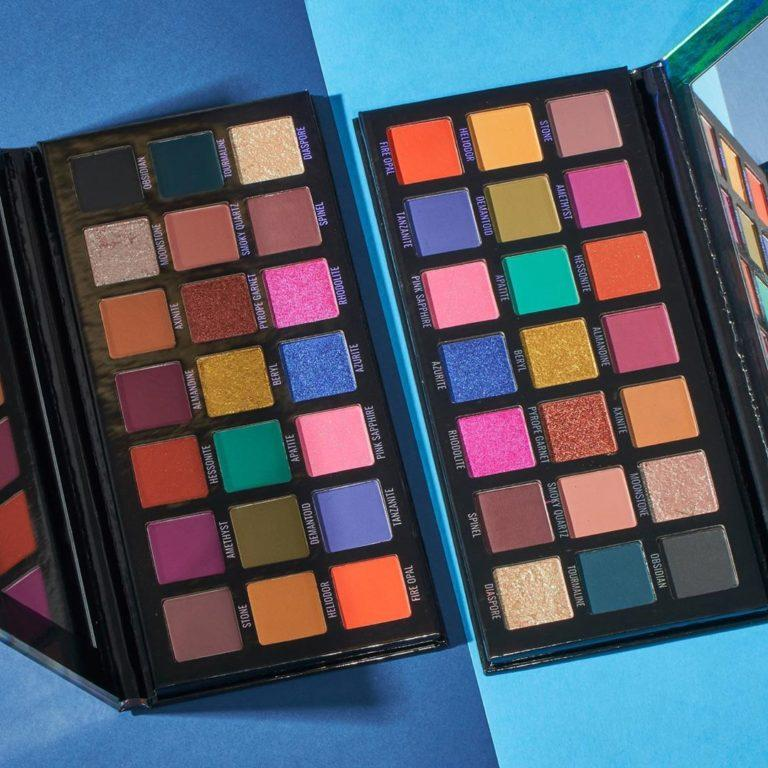 Sample Beauty The Prodigy Palette Jewel Toned Edition Dual Ilumination