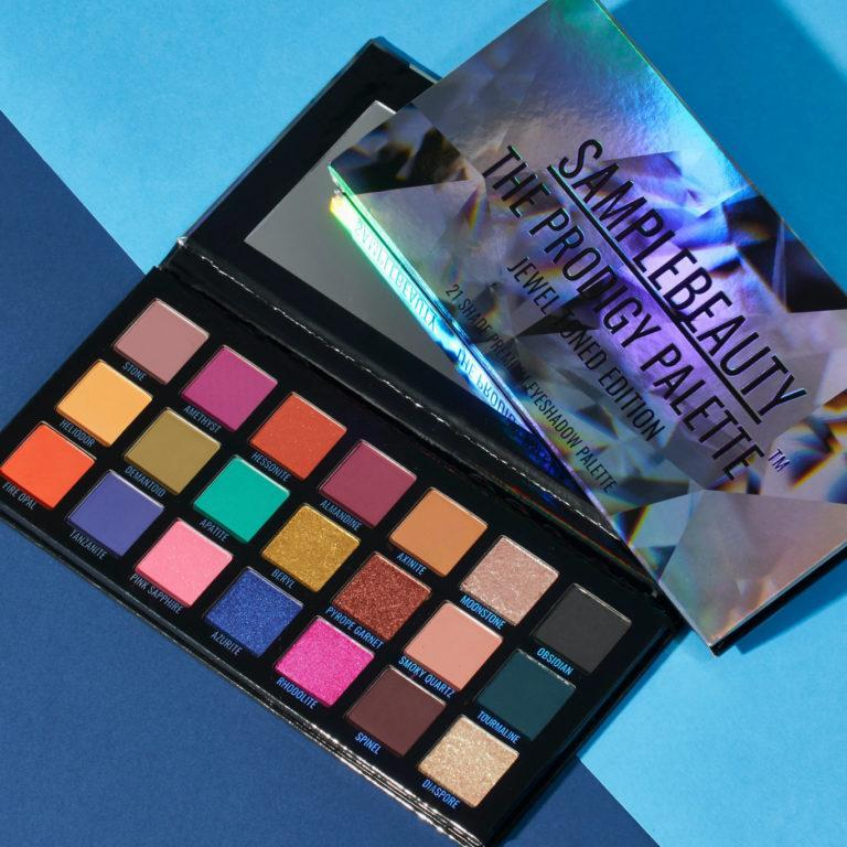Sample Beauty The Prodigy Palette Jewel Toned Edition Promo Alt
