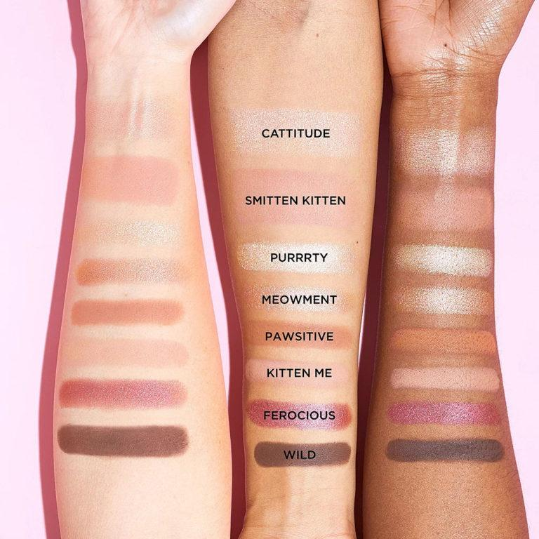 Tarte Confessions of a Maneater Eye & Cheek Palette Arm Swatches