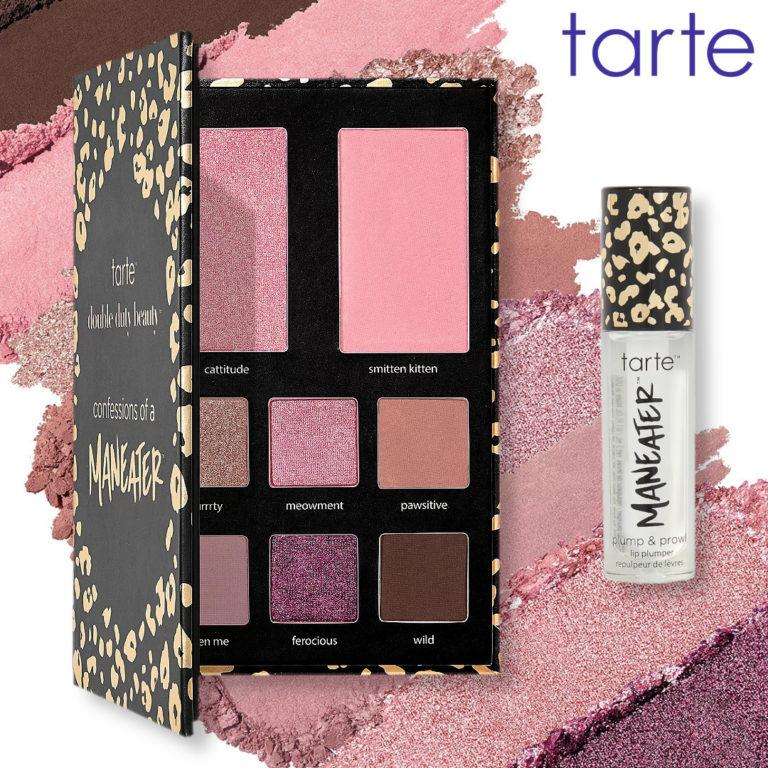Tarte Maneater Palette & Lip Gloss Cover