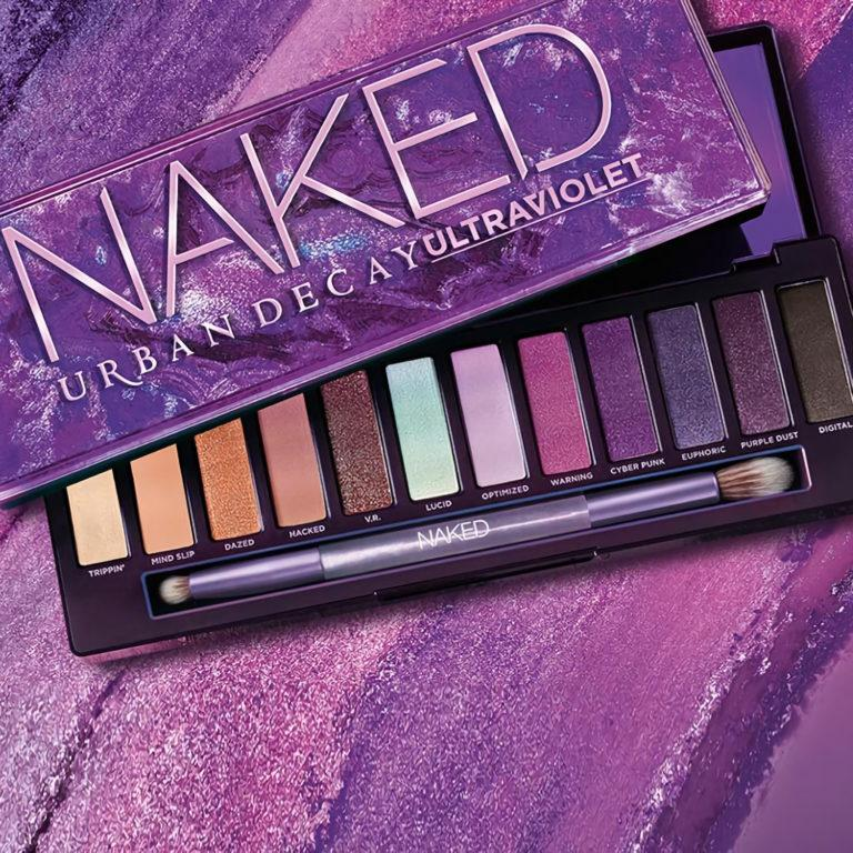 Urban Decay Naked Ultraviolet Eyeshadow Palette Cover