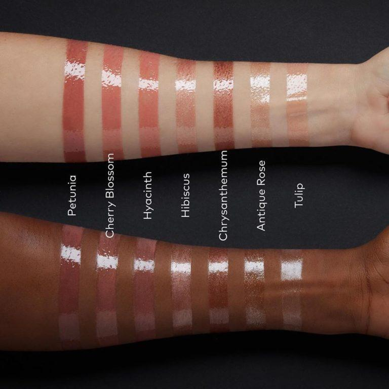 Wayne Goss The Lip Collection The High Shine Gloss Arm Swatches