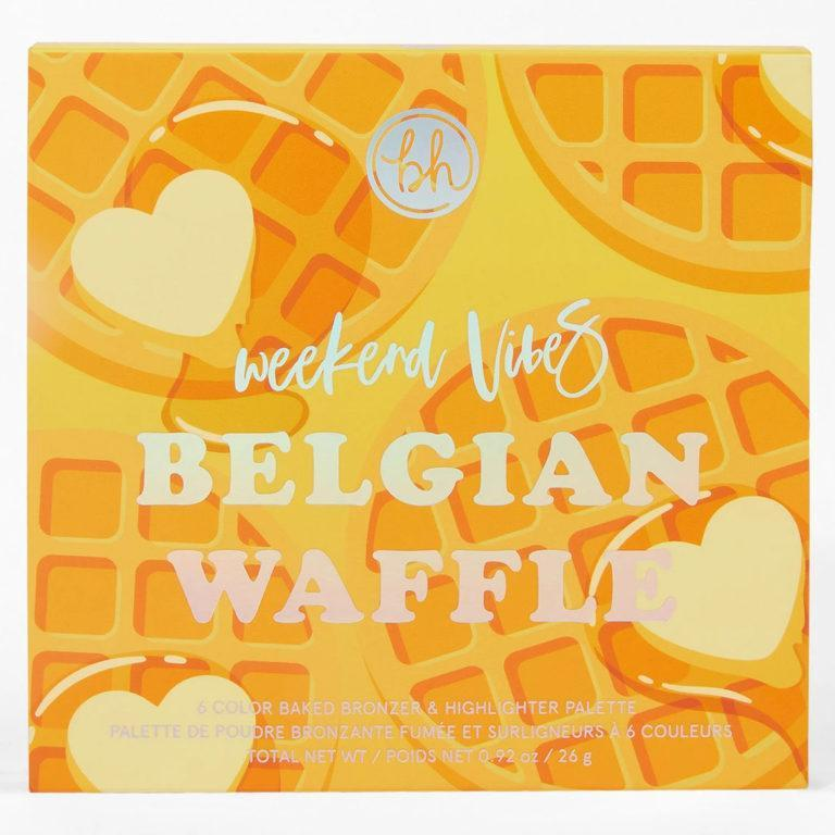 Weekend Vibes Belgian Waffle Face Palette Cover