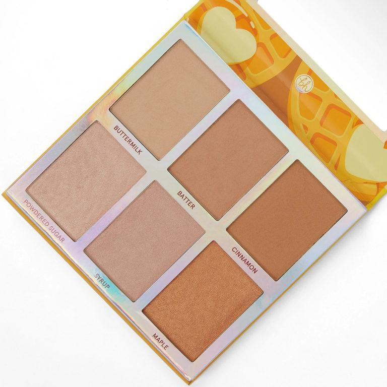 Weekend Vibes Belgian Waffle Face Palette Front Angled
