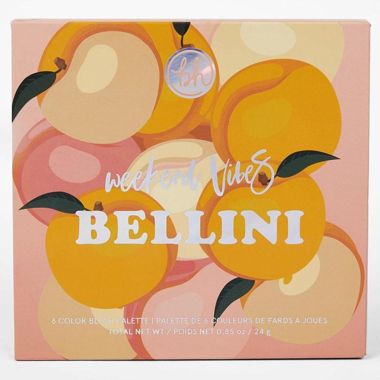 Weekend Vibes Bellini Face Palette Cover
