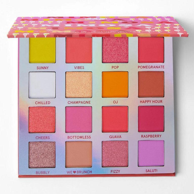 Weekend Vibes Mimosa Eyeshadow Palette Front
