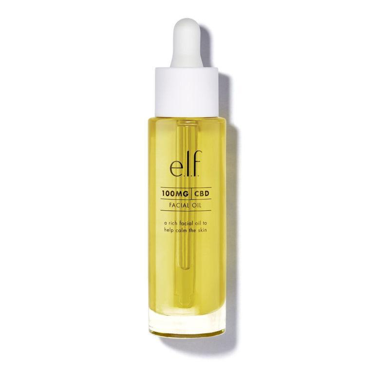 e.l.f Cosmetics 100 mg CBD Facial Oil Closed