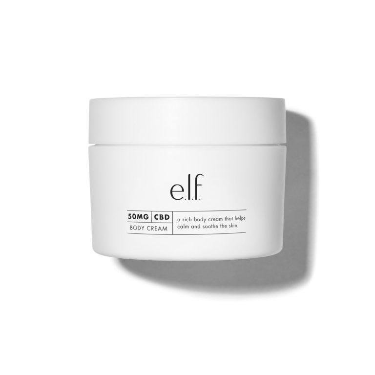 e.l.f Cosmetics 50 mg CBD Body Cream Closed