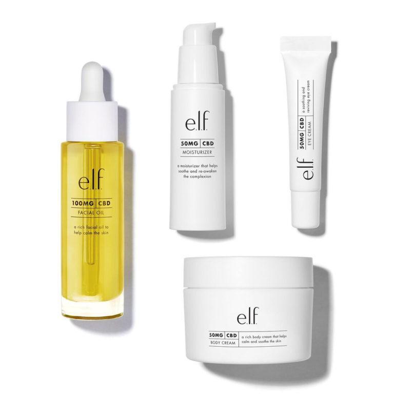 e.l.f Cosmetics CBD Collection