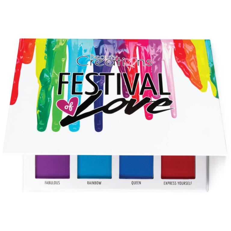 Beauty Creations Festival of Love Eyeshadow Palette Almost Closed