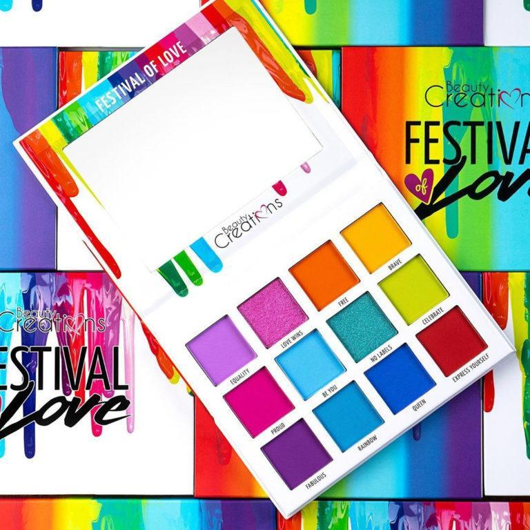 Beauty Creations Festival of Love Eyeshadow Palette Promo