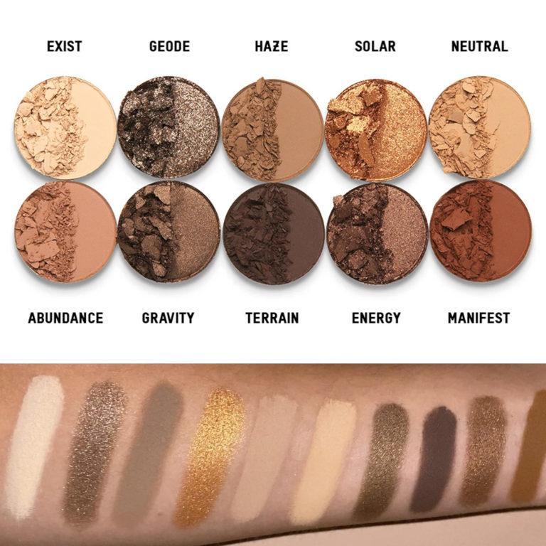 Classic II Eyeshadow Palette Swatches