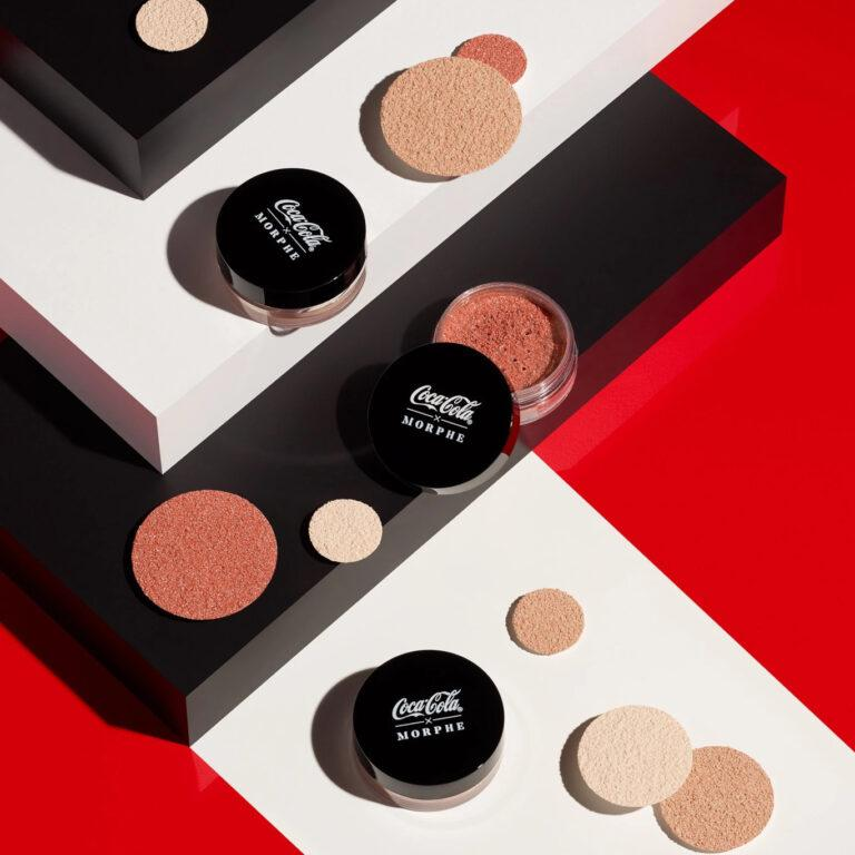 Coca Cola X Morphe Glowing Places Loose Highlighter Promo
