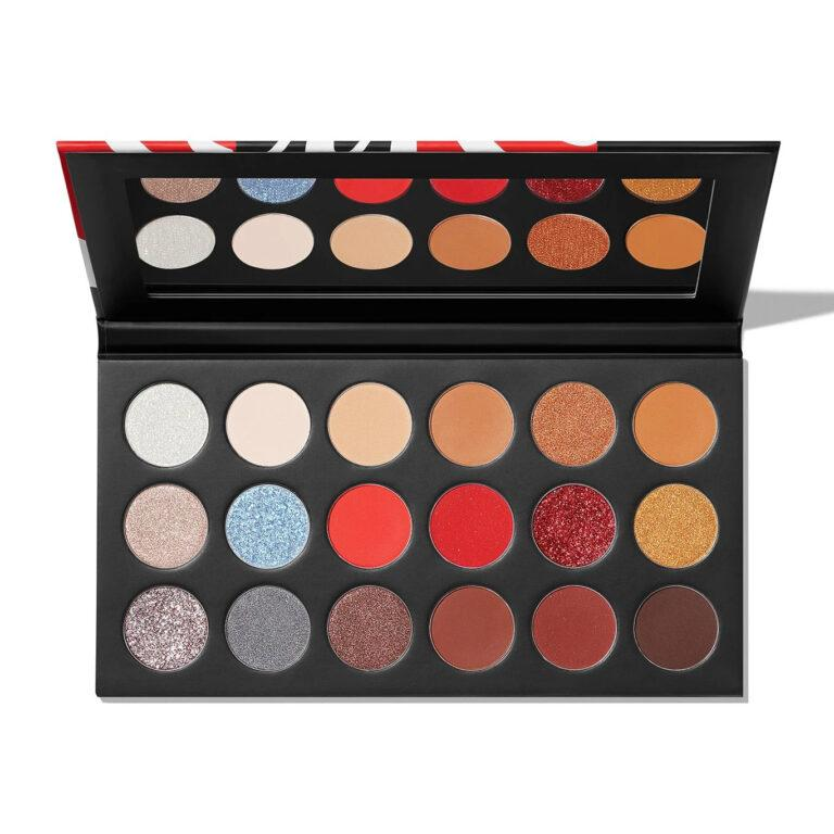 Coca Cola X Morphe Thirst For Life Artistry Palette Open front