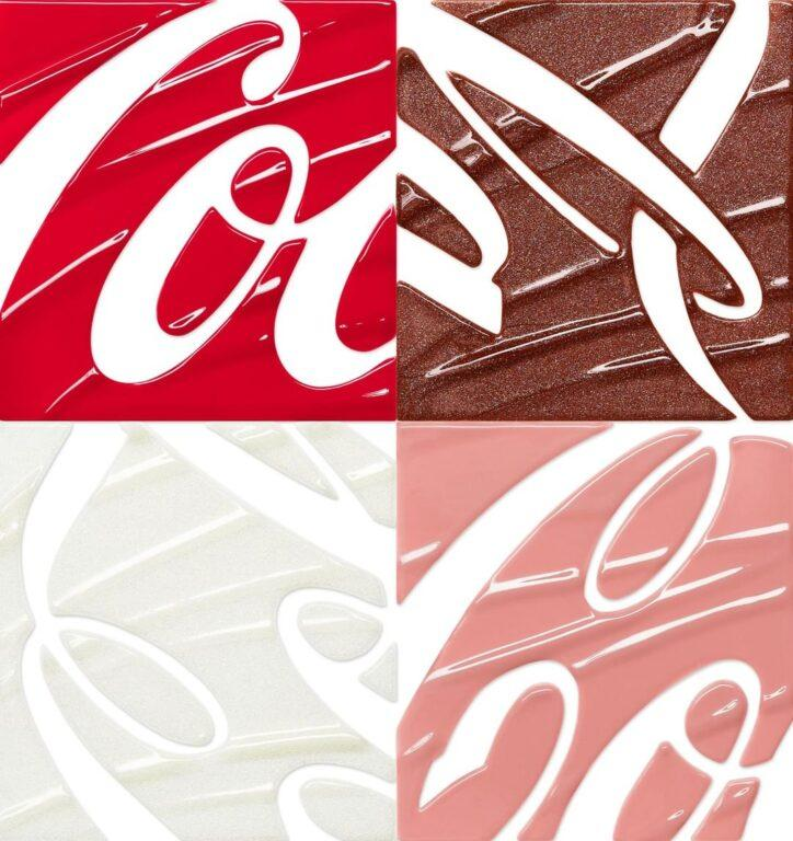 Coca Cola x Morphe Lip Collection Swatches