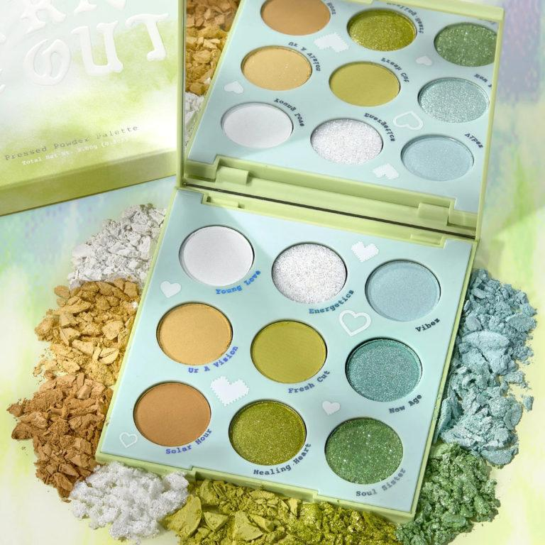 Colourpop Tie Dye Collection Aura & Out Eyeshadow Palette