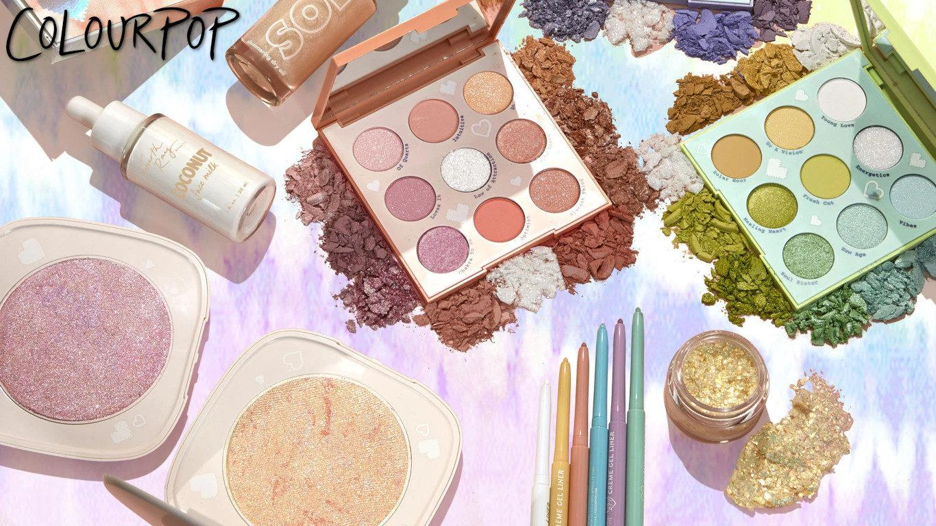 Colourpop Tie Dye Collection Blog Header