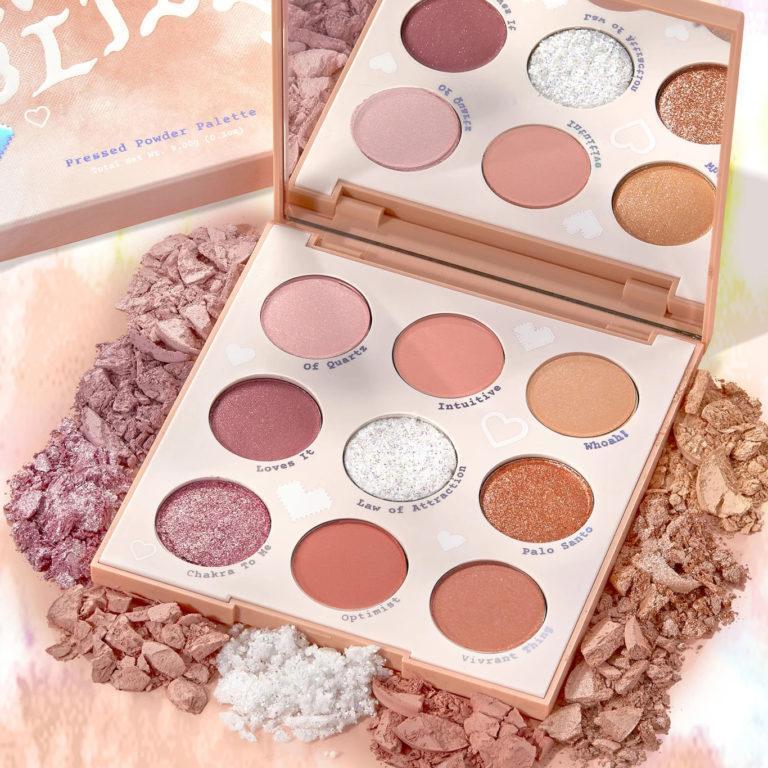 Colourpop Tie Dye Collection Miss Bliss Eyeshadow Palette