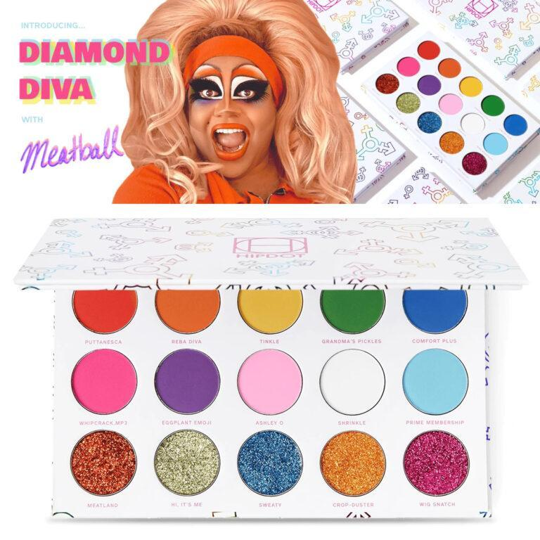 Diamond Diva with Meatball Post Cover