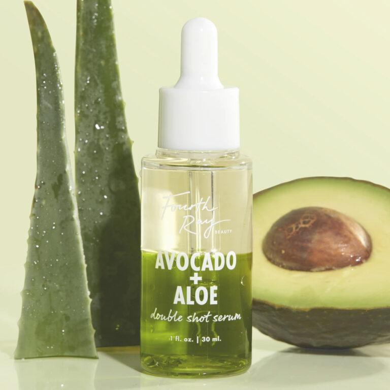 Fourth Ray Beauty Avocado + Aloe Double Shot Face Serum Post Cover