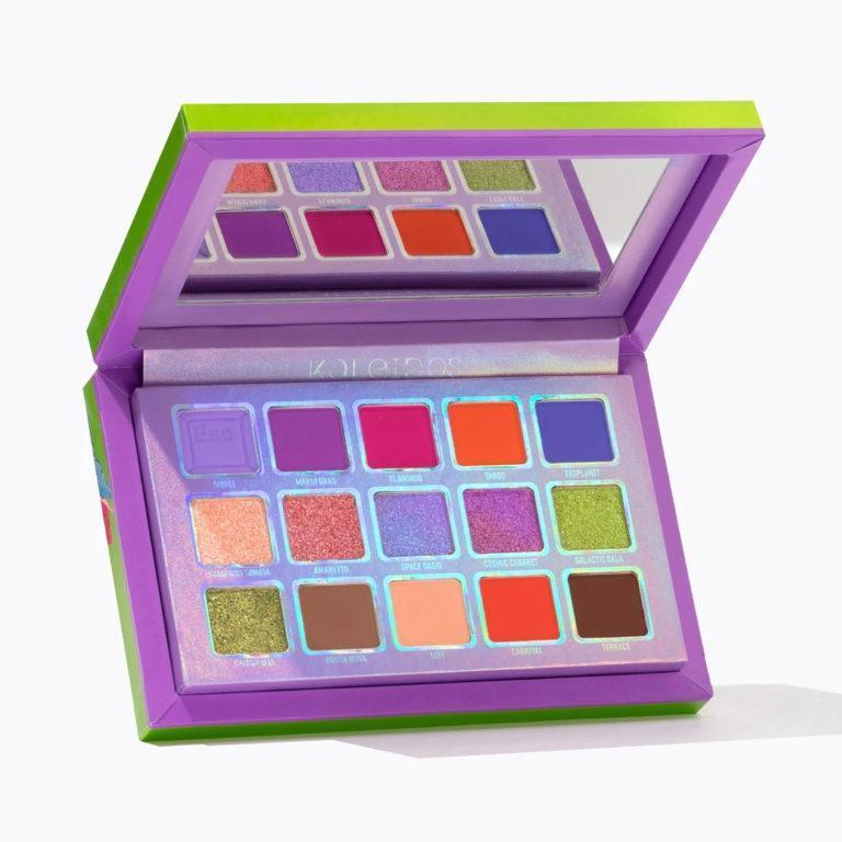 Kaleidos Makeup Make Your Escape Collection Escape Pod palette frontal
