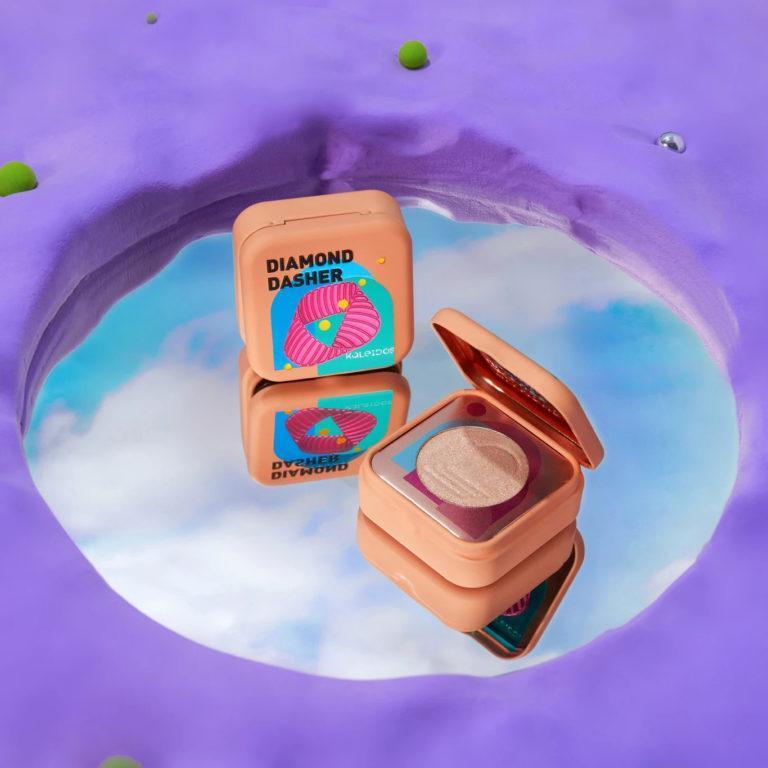 Kaleidos Makeup Make Your Escape Collection Highlighter in Diamond Dasher