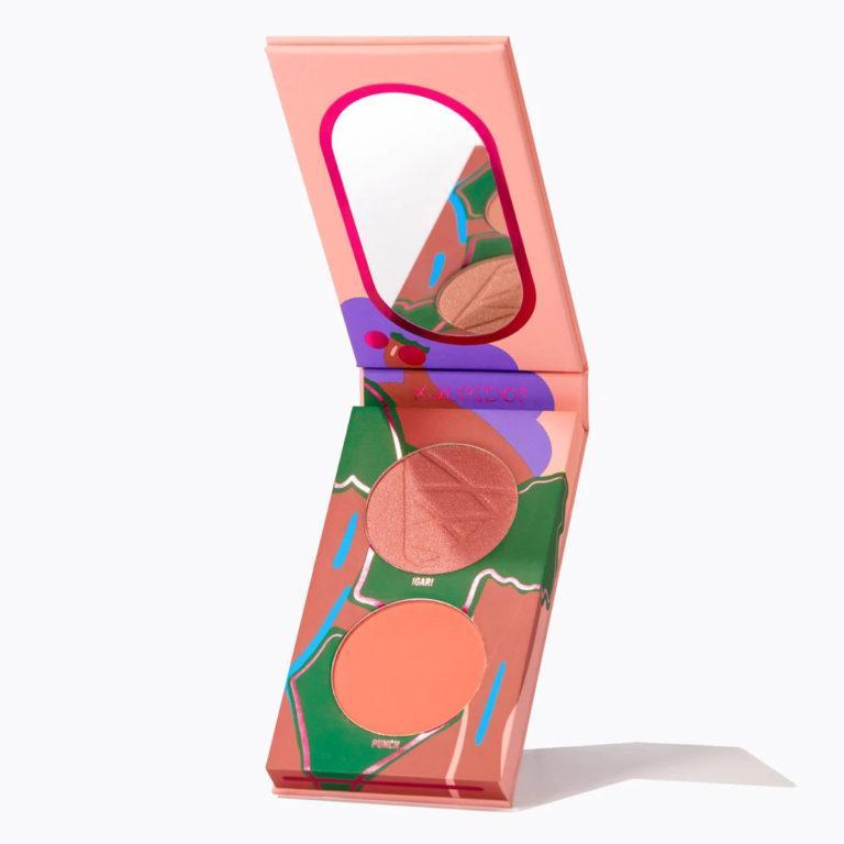 Kaleidos Makeup Make Your Escape Collection Lo Fi Peach