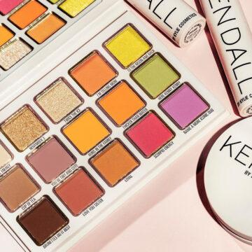 Kylie Cosmetics Kendall X Kylie Collection Eyeshadow Palette Close Up