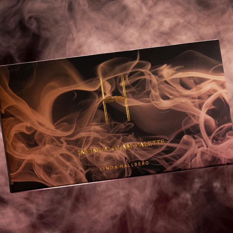 Linda Hallberg Cosmetics Infinity Glam Palette Closed