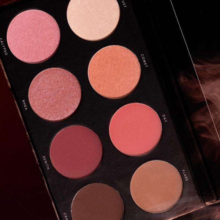 Linda Hallberg Cosmetics Infinity Glam Palette Closer Look