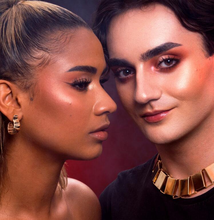Linda Hallberg Cosmetics Infinity Glam Palette Model 2