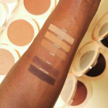 Makeup Revolution Mega Bronzer Arm Swatches Dark