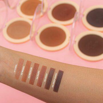 Makeup Revolution Mega Bronzer Arm Swatches Light