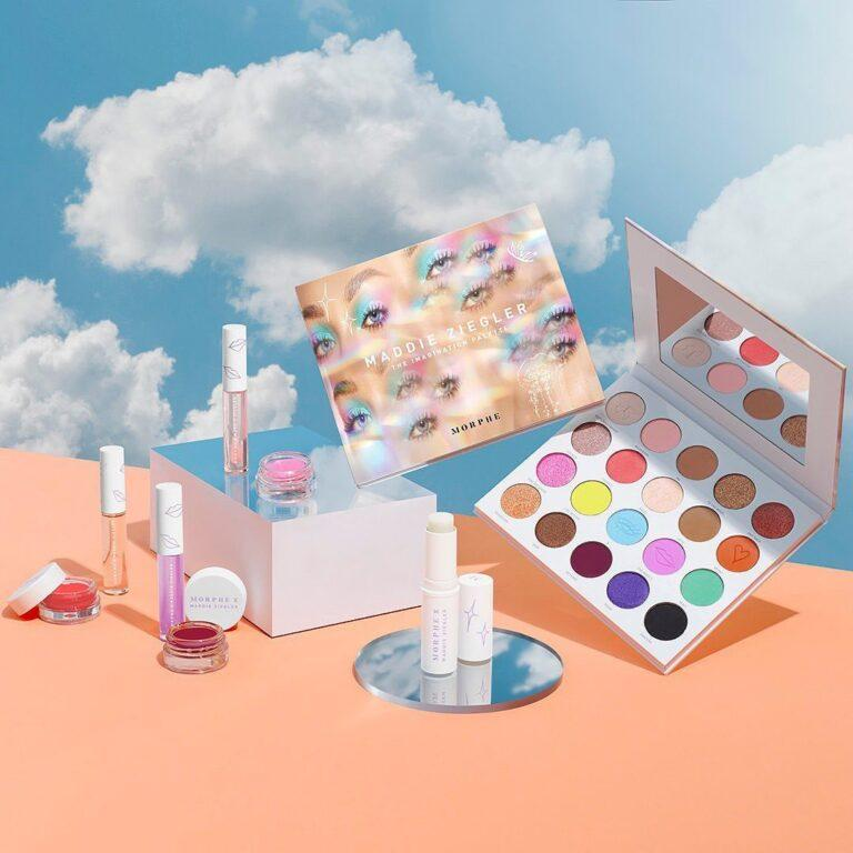 Morphe x Maddie Ziegler The Imagination Collection Promo Post Cover