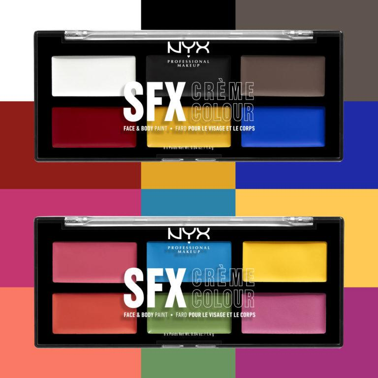 NYX SFX Face And Body Paint Palettes Promo