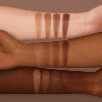 Nabla Cosmetics Miami Lights Skin Bronzing Arm Swatches