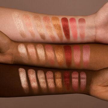 Nabla Cosmetics Miami Lights Skin Glazing Arm Swatches