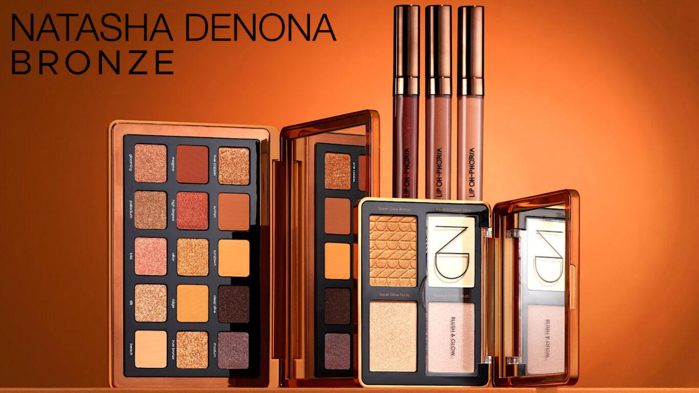 Natasha Denona Bronze Collection Blog Post Header Logo
