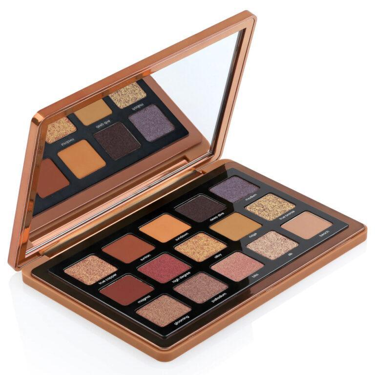 Natasha Denona Bronze Collection Bronze Eyeshadow Palette Open Angled