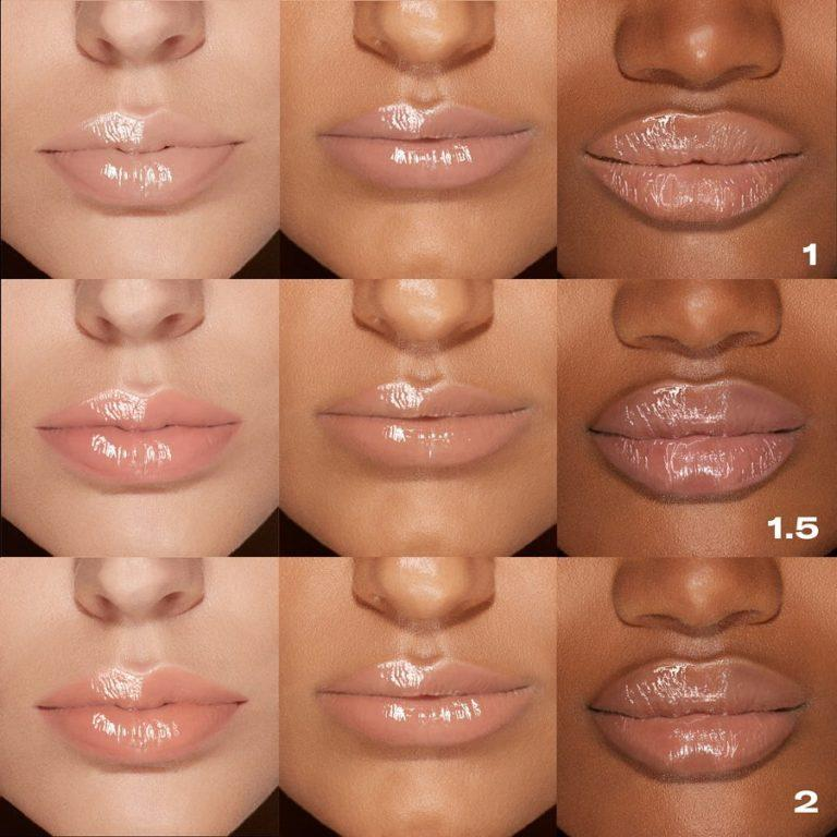 Nude Gloss Lip Swatches 1