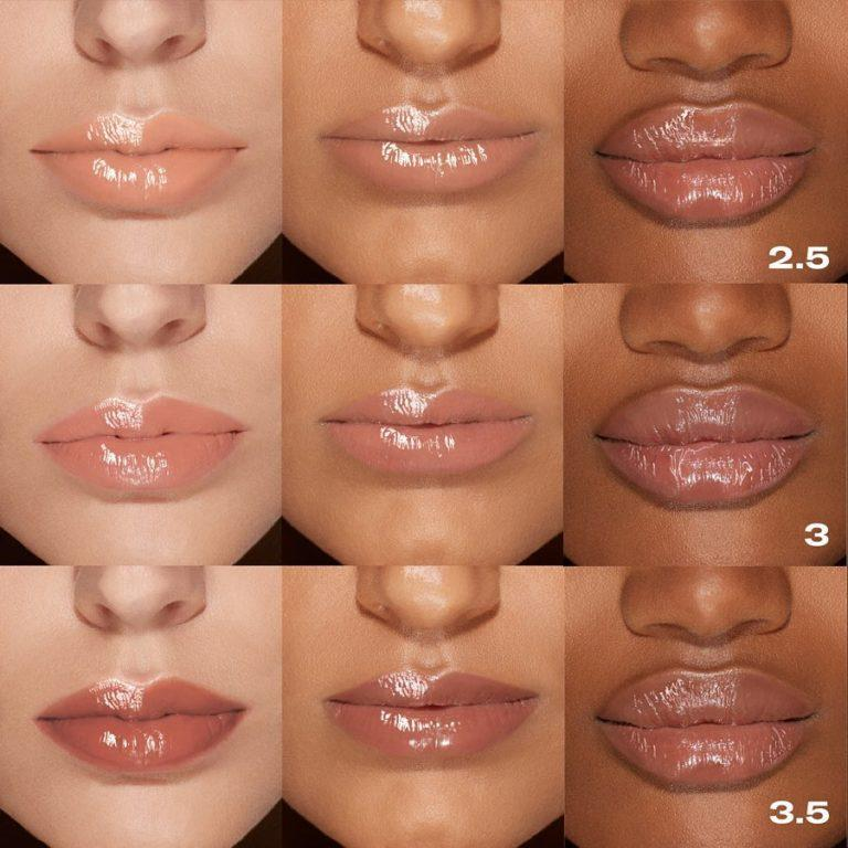 Nude Gloss Lip Swatches 2