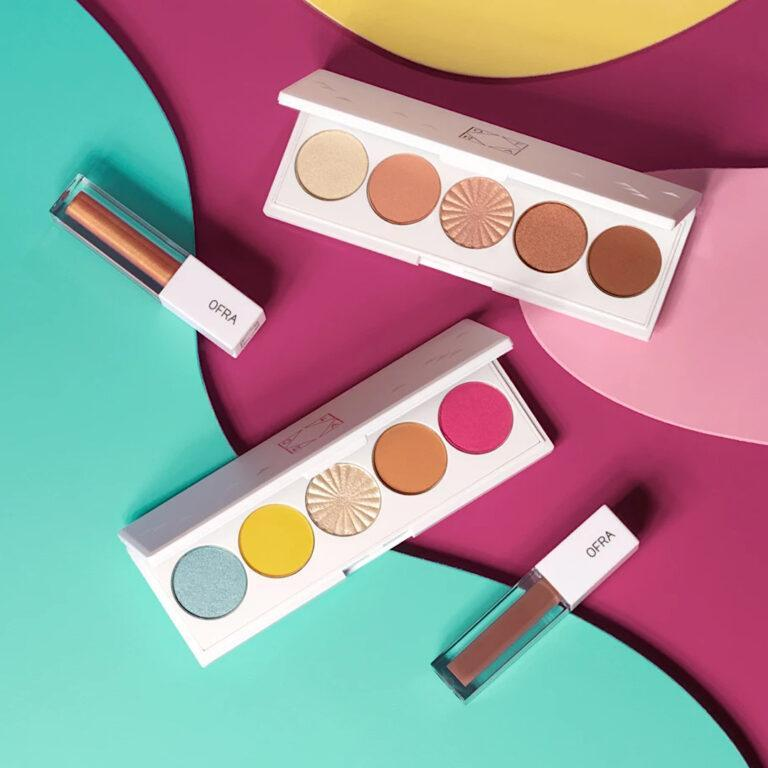 OFRA Cosmetics Beachside & Getaway Signature palettes and Bali & Bare Glosses Post Cover