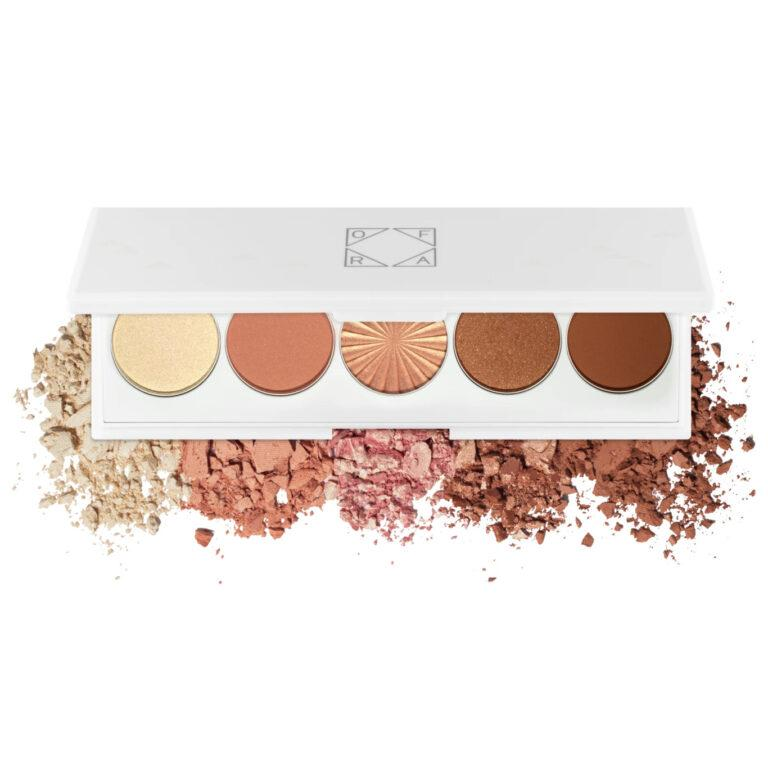 OFRA Cosmetics Signature Eyeshadow Palette Getaway Open With Crash Swatches