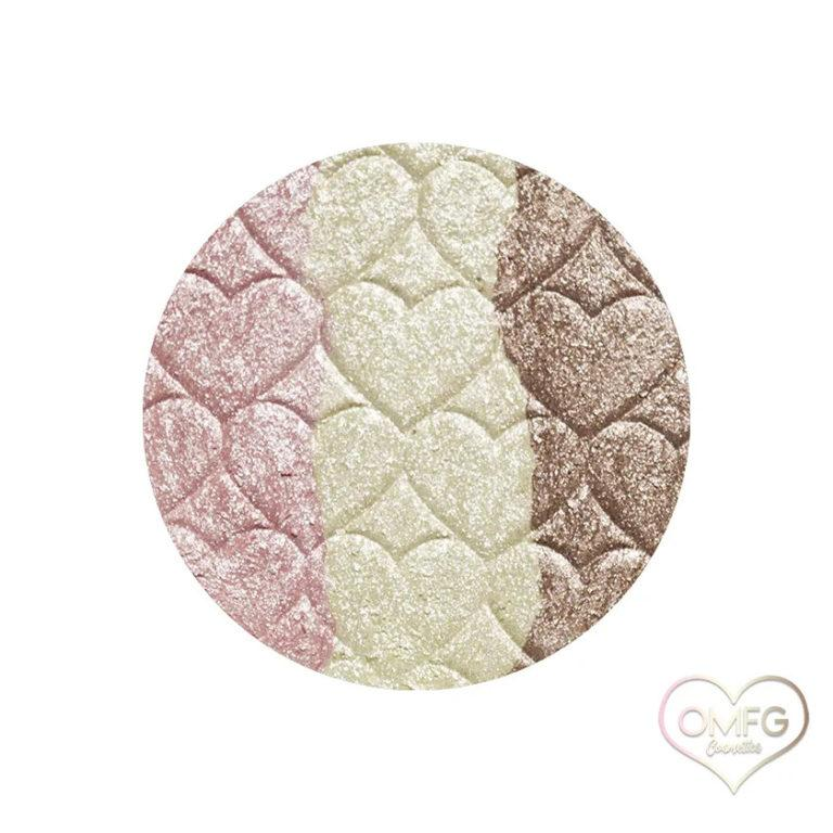 OMFG Cosmetics Sugar & Sweets Highlighter in Neapolitan