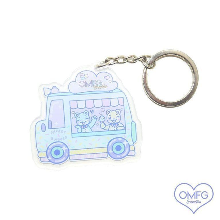 OMFG Cosmetics Sugar & Sweets Limited Edition Key Chain