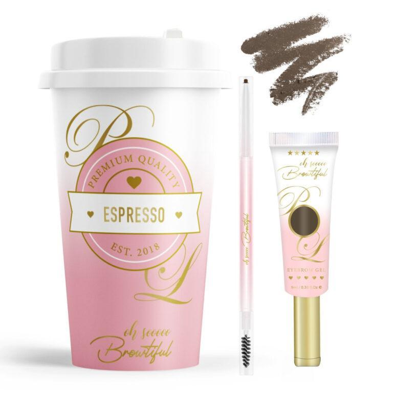 P.Louise Makeup Acaademy Dishin' The Dirt Collection Oh So Browtiful In Espresso