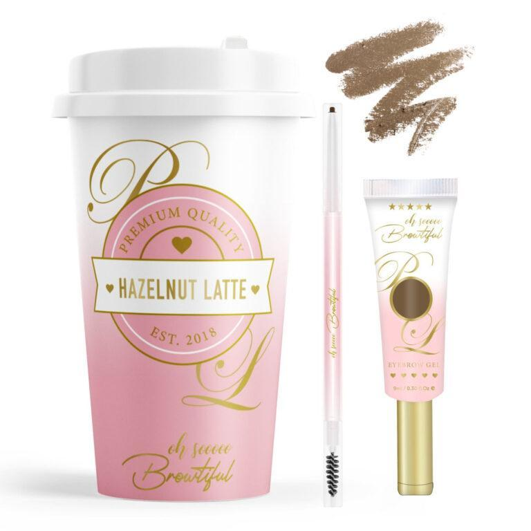 P.Louise Makeup Acaademy Dishin' The Dirt Collection Oh So Browtiful In Hazelnut Latte