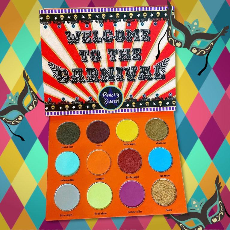 Peachy Queen Carnival Palette Post Cover